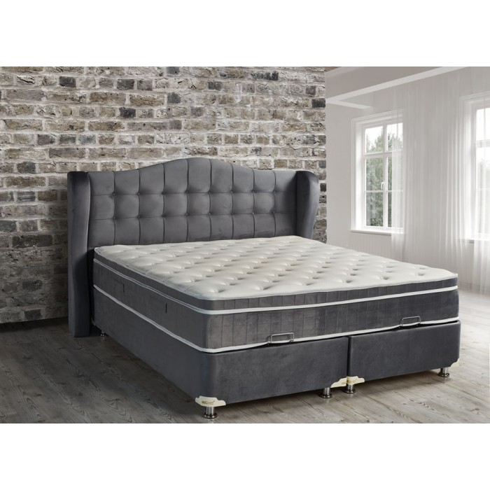 boxspring baza dorian met opbergruimte. Black Bedroom Furniture Sets. Home Design Ideas