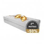Pocketveer Matras Traagschuim Fifty Fifty