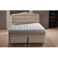 Boxspring Opbergbed Luxor Taupe