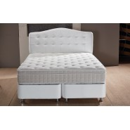 Boxspring Opbergbed Luxor Wit