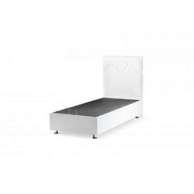 BOXSPRING 100x200 TWIJFELAAR BAZA STEEL MET OPBERGRUIMTE