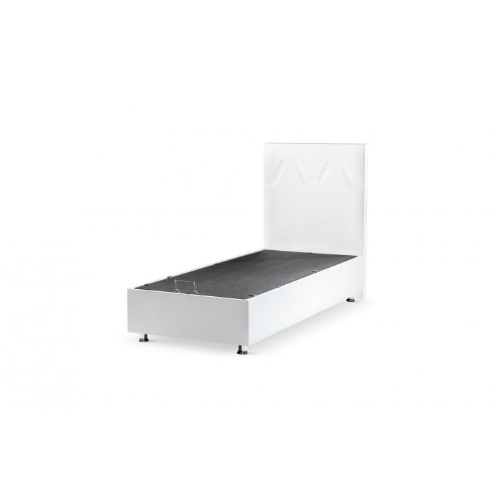 boxspring 120x200 twijfelaar baza steel met opbergruimte. Black Bedroom Furniture Sets. Home Design Ideas